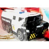 2007 / R�f 1714 Camion Team Cops Fantasy Police 7 � 8 Cms De Long