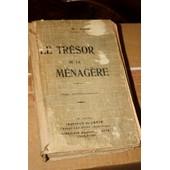 Le Tresor De La Menagere de Guennard Mlle