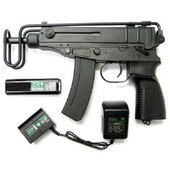 Pistolet Mitrailleur Cz Scorpion Vz61 Vz 61 Aeg Electrique Metal Semi Full Auto Hop Up Asg 16529 Airsoft