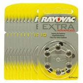 60 piles auditives Rayovac 10 Extra advanced / pile auditive PR70 / 10AE,A10,DA10,P10,PR10H