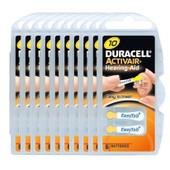 60 piles auditives Duracell 10 ActivAir / pile auditive PR70 / 10AE,A10,DA10,P10,PR10H