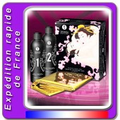 Coffret Gel�e De Massage Erotique - Massage Corps A Corps Oriental - Drap Inclus