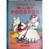M. Mme Prosper Par Alain Saint Ogan Illustre de