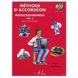 PACK METHODE D'ACCORDEON VOL. 2 : PARTITION + CD MAUGAIN MANU