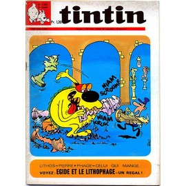 Tintin Hebdomadaire N� 1152 (Modeste Pompon, Martin Milan, Michel Vaillant, Cubitus, Ric Hochet...)