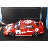Alfa Romeo 155 Ts #56 Silverstone 1994 Btcc Simoni Hpi Racing 8125 1/43 Rouge