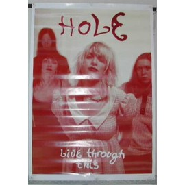 Poster Courtney Love HOLE 63X89
