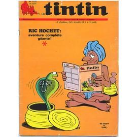 Tintin Hebdomadaire N�1132 (Ric Hochet, Martin Milan, Chick Bill, Olivier Rameau, Cubitus, Tounga..)