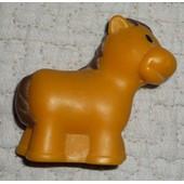 Cheval Figurine Style Little People 6 Cm