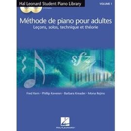 Méthode de piano pour adultes Hal Leonard + 2 CD - Volume 1