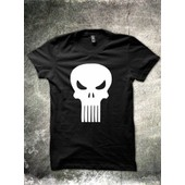 T-Shirt Comics Com27 The Punisher Neuf De S-M-L-Xl-2xl