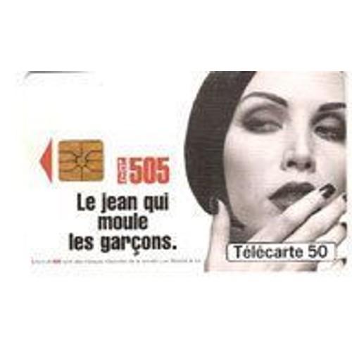 Télécarte 50 publicité <strong>levis</strong> 0896