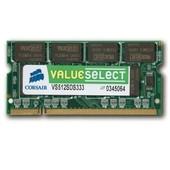 M�moire Value Select SO-DIMM 512 Mo PC 2700 (VS512SDS333) - Garantie 10 ans