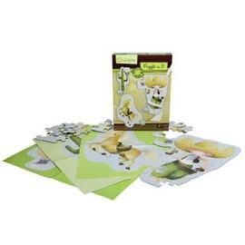 Puzzles De 22 � 33 Pi�ces : 3 Puzzles G�ants Cowboys