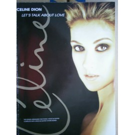 Celine Dion:Let's Talk About Love Piano, Vocal & Guitar (with Chord Boxes)