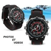 Montre Camera Espion 4 Go HD