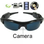 Mini Camera Spy Cam Cach�e Espion HD 1280 x 960 - Lunettes de Soleil