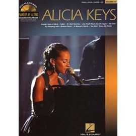 PIANO PLAY ALONG VOL.117 ALICIA KEYS PVG CD