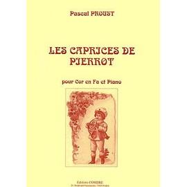 Les Caprices de Pierrot Cor en Fa et piano
