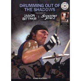 DRUMMING OUT OF THE SHADOWS J.BITTNER CD W/ PLAYBACKS