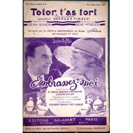 Totor, T'as Tort (Fox Trot chanté par Georges Milton)