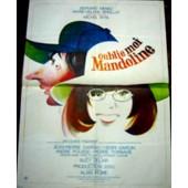 Oublie-Moi Mandoline / Affiche Originale 120x160cm / Michel Wyn, 1973, Bernard Menez, Marie-H�l�ne Breillat, Suzy Delair
