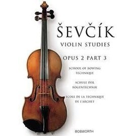 Oskar Sevcik: School Of Bowing Technique Viola Studies - op 2 Part 3 pour alto