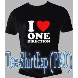 T-Shirt I Love One Direction - Tee Shirt I Love One Direction What Makes You Beautiful - Taille S M L Xl Xxl
