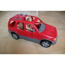 Voiture (Ford) Barbie Rouge