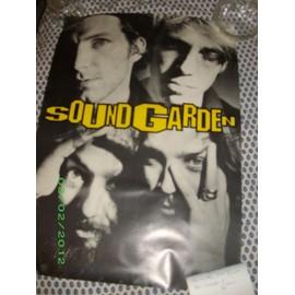 Soundgarden Chris Cornell Poster 88X57
