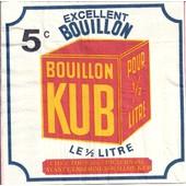Lot De 2 Serviettes D�co Papier Mdm: Bouillon Kub