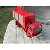 Solido Pompier Camion Renault S170 Cellule Mobile Ampliroll!!!