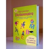 Mon Premier Dictionnaire de Stephanie Roujol