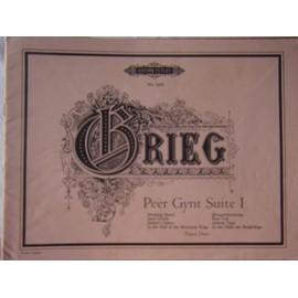Peer Gynt Suite No 1 Op46 Arr Piano Duet (Ruthardt)