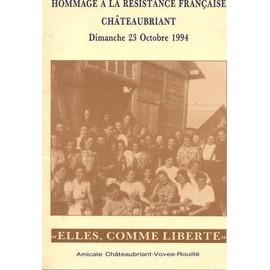 Hommage � La R�sistance Fran�aise