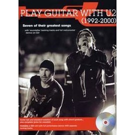 U2 PLAY GUITAR WITH 92-2000 TAB CD