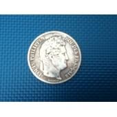 5 Francs Argent Louis Philippe 1835 A