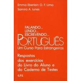 Falando, lendo, escrevendo Portugues. Respostas dos exercicios