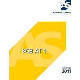 BGB AT 1 - Josef A. Alpmann