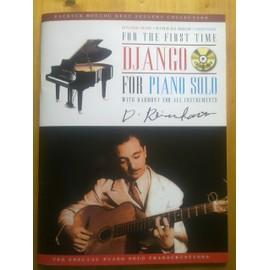 DJANGO FOR PIANO SOLO