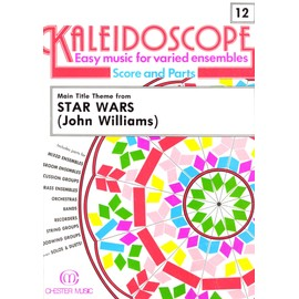 kaleidoscope 12 main title  theme from stars wars ( john williams) partitions musique pour ensembles