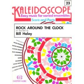 kaleidoscope n° 23 rock around the clock ( bill haley ) partitions , musique facile pour ensembles variés