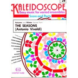 kaleidoscope n° 26 the seasons (antonio vivaldi ) partitions, musique facile pour ensembles variés