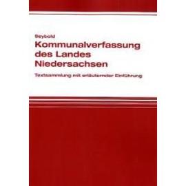 Kommunalverfassung des Landes Niedersachsen - Jan Seybold