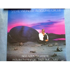 "Poster Stevie Wonder ""In Square Circle"""