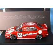 Alfa Romeo 155 Ts #55 Silverstone 1994 Jtcc Busi Hpi Racing 8130 1/43 Corse Red