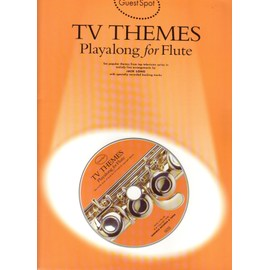 Tv themes playalong for flute