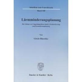 Lärmminderungsplanung - Ulrich Blaschke