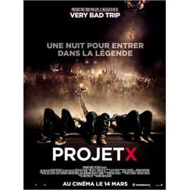 Projet X (Project X) - V�ritable Affiche De Cin�ma - Format 120x160 - De Nima Nourizadeh Avec Alexis Knapp, Thomas Mann (Ii), Miles Teller - 2012