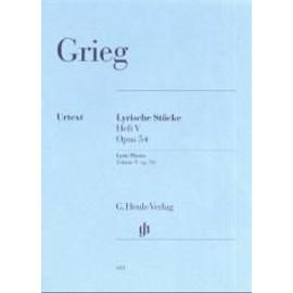 Lyrische Stücke Opus 54 (Heft V) Klavier
